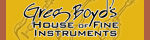 Greg Boyds House of Fine Instruments